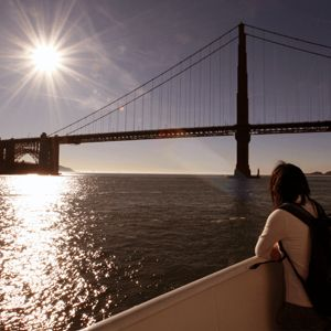 Alcatraz Day Tour + Red and White Fleet Sunset Cruise