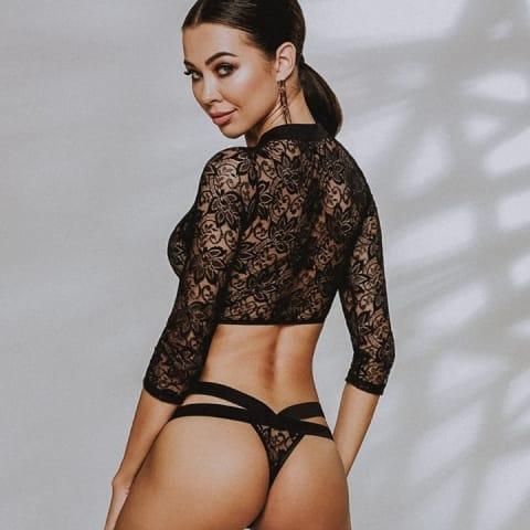 A Passion Devil Leticia csipkés pántos body egy igazi különlegesség, sportos ugyanakkor...