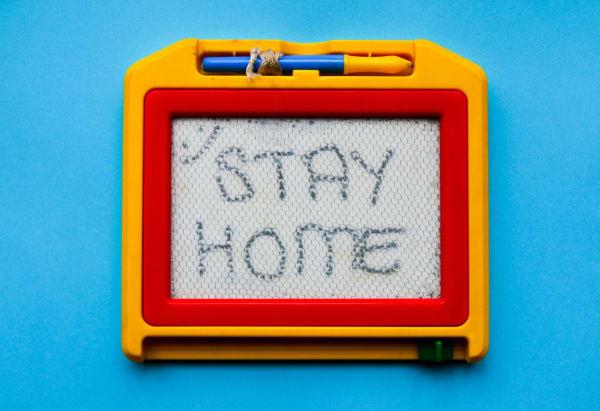 در خانه بمانیم