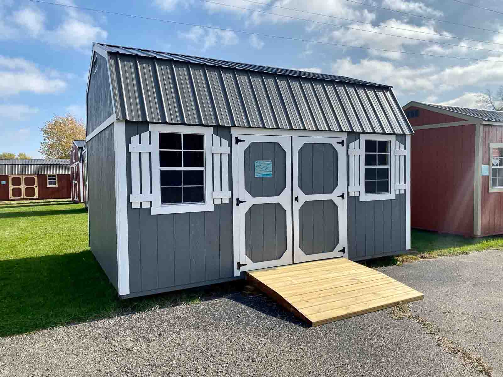Amish Built Storage Shed in Adrian