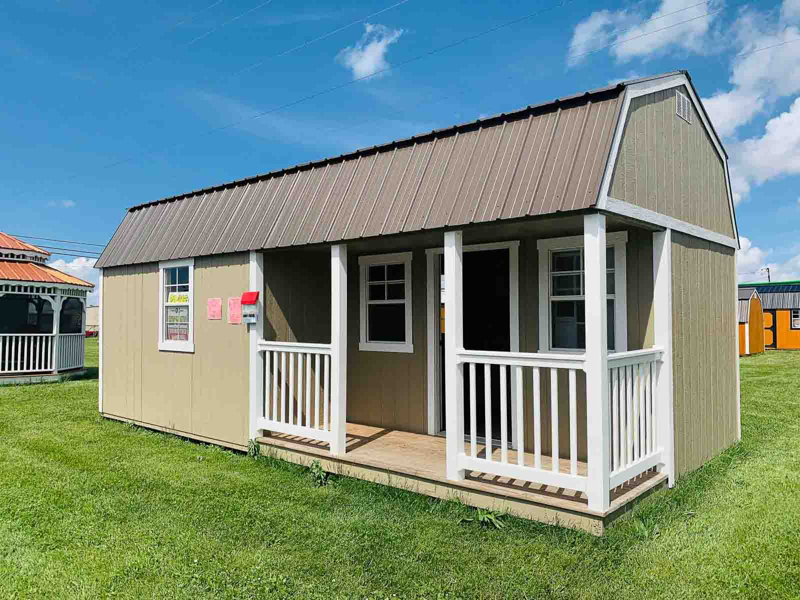 Amish Built Casita at the Adrian Location of Amish Outdoor Buildings