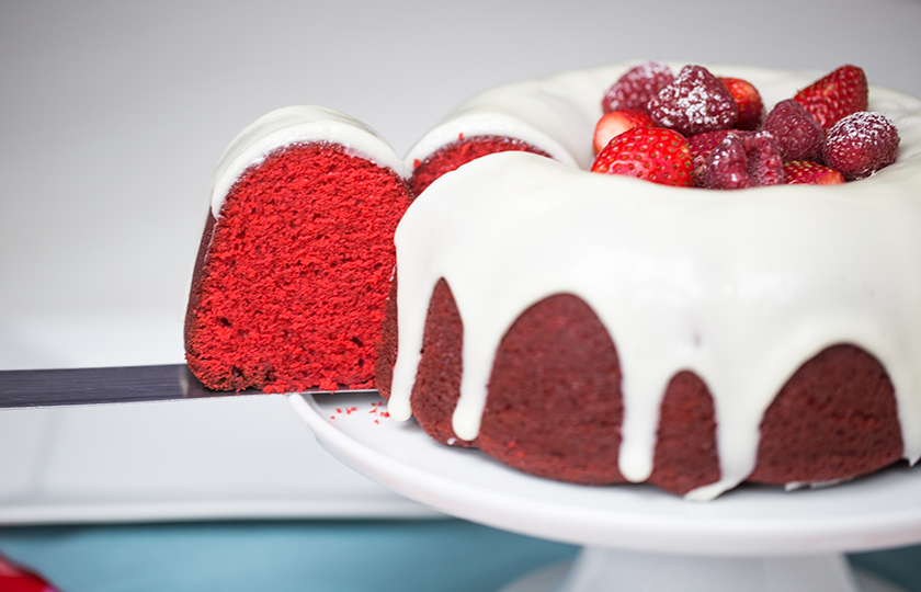 Amoretti Recipe: Red Velvet Cake