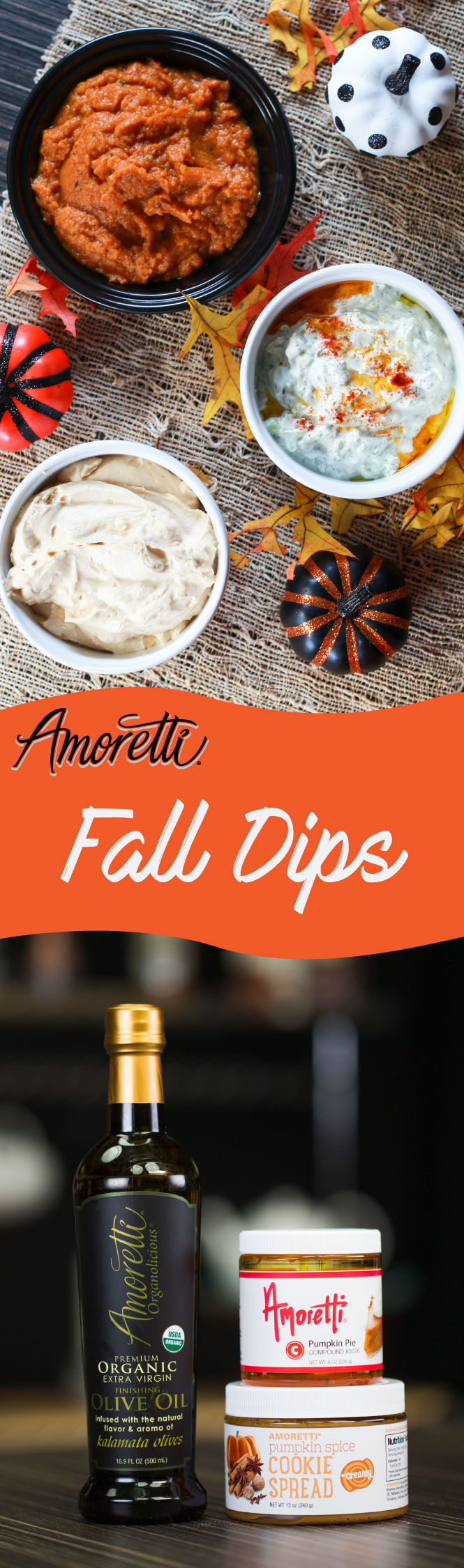Three Savory Fall Dips!