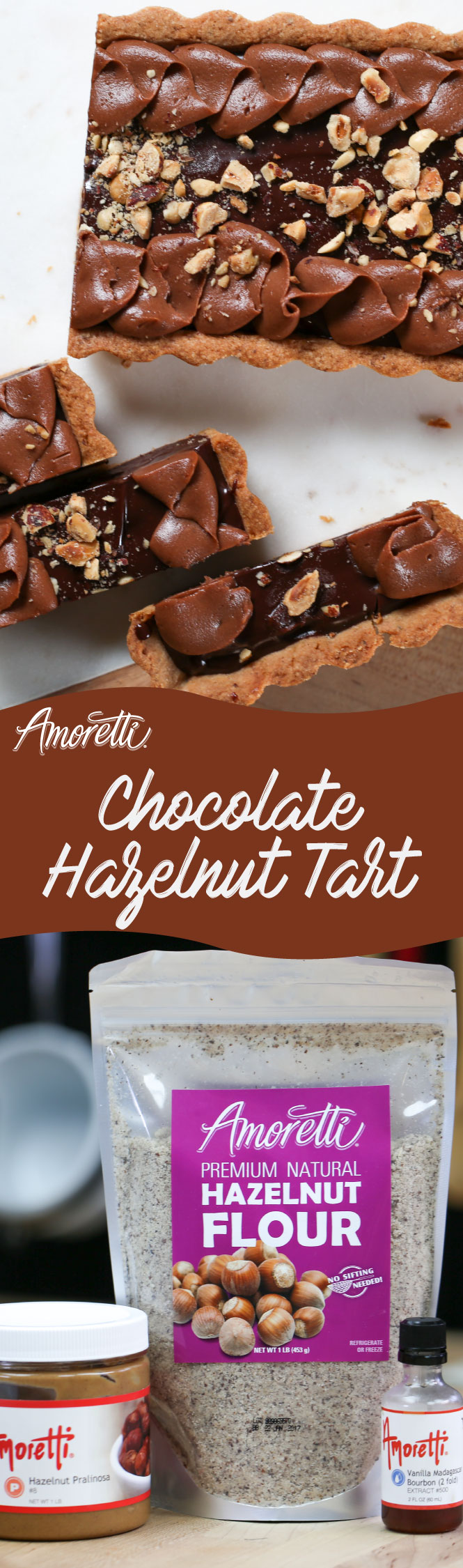Chocolates and hazelnuts never looked so good!