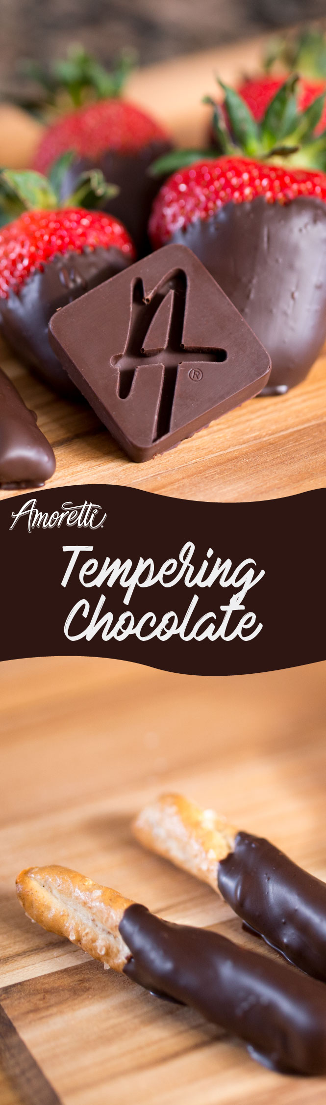 Learn to temper chocolate like a professional!