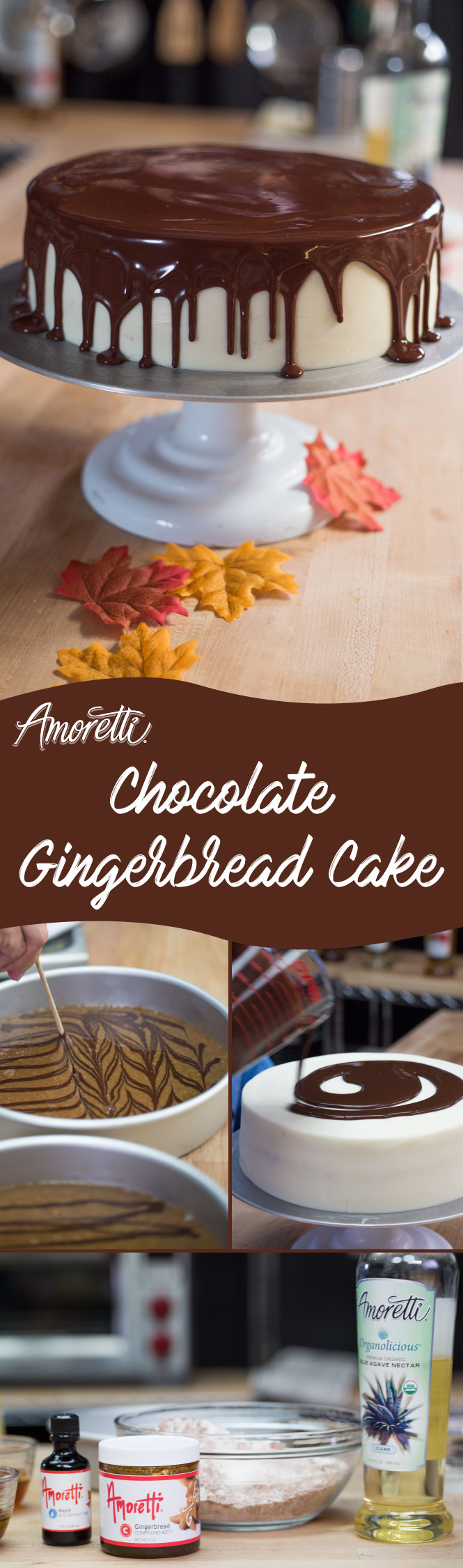 This delicious cake is sure to become a new holiday favorite!