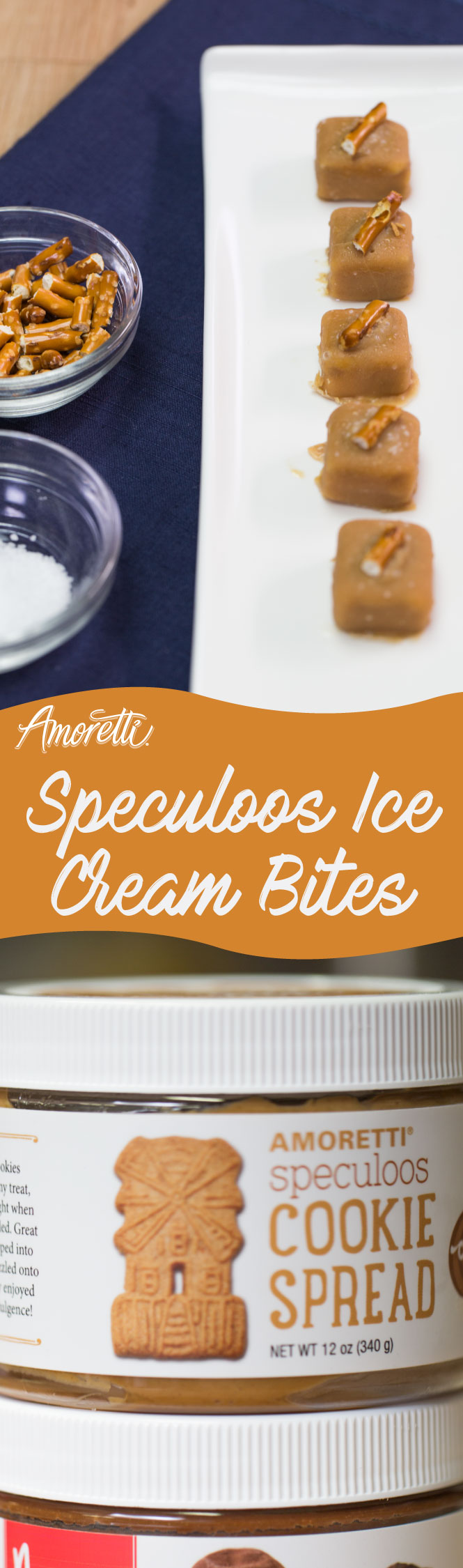 Enjoy these bite-sized morsels of ice cream goodness!