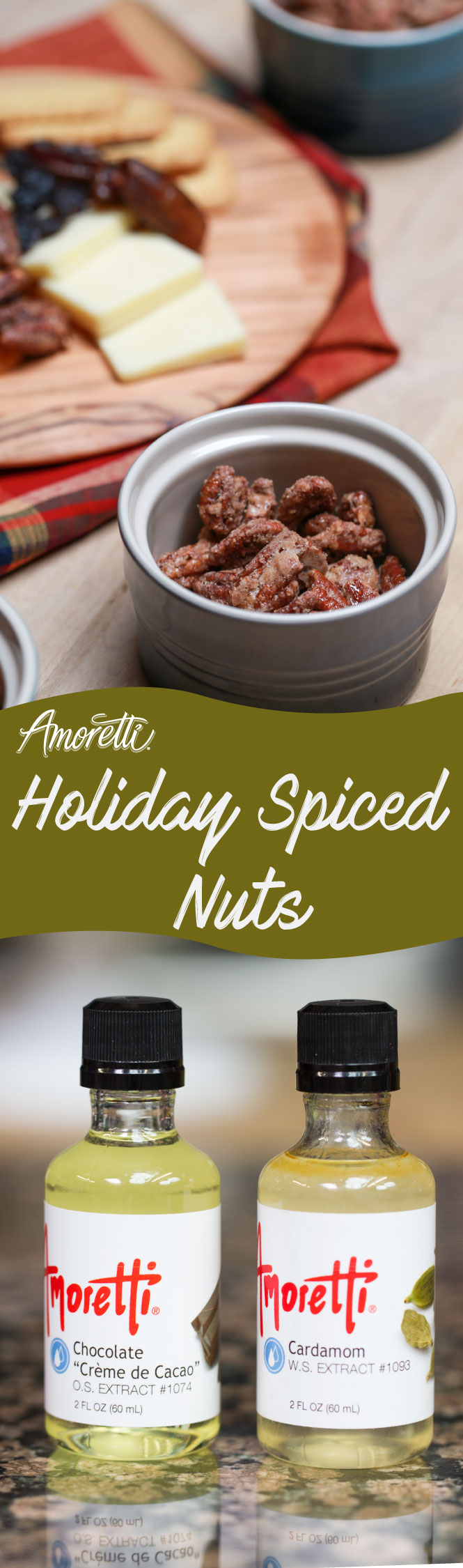 When you need a snack during the holidays, try this deliciously nutty recipe!