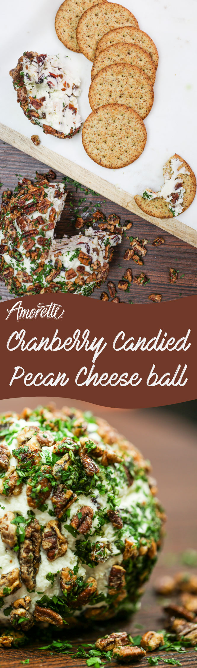 A super delicious and savory cheese ball recipe that is a great appetizer when you have company over!
