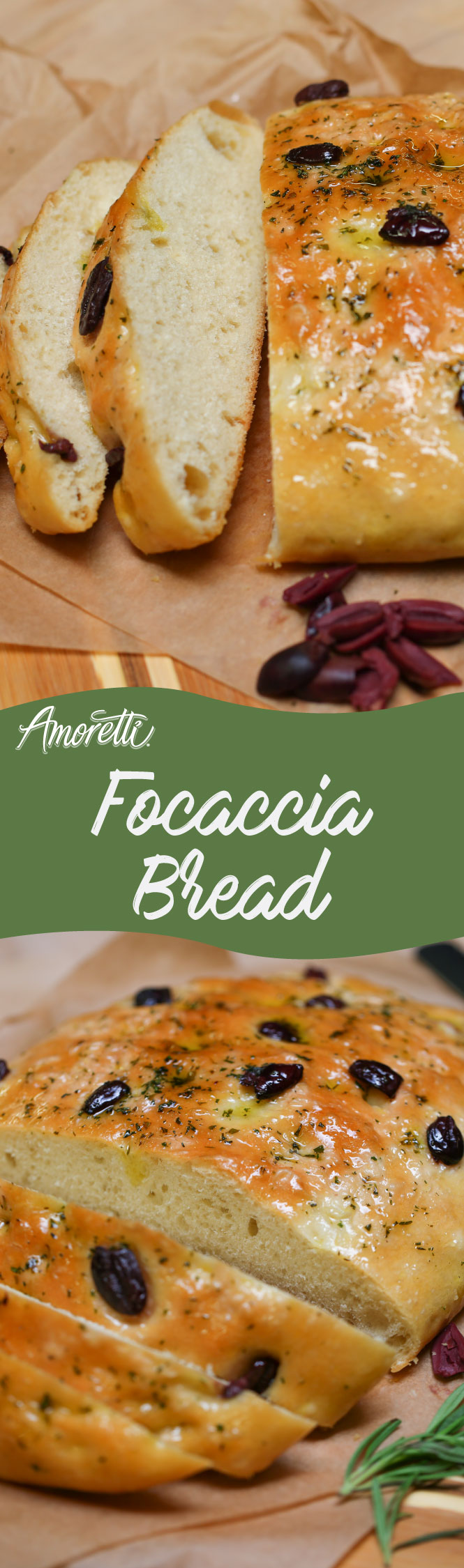 Make dinner a bit more special with this savory focaccia bread!