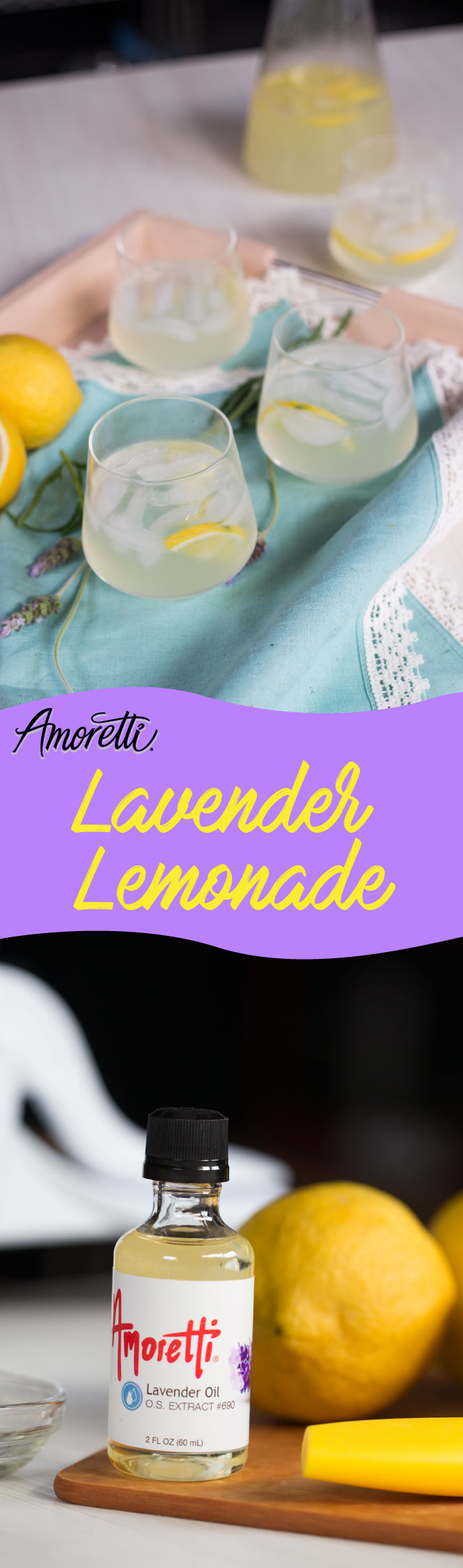 Our lavender lemonade is too good to pass up this summer!