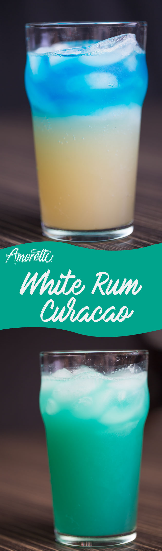 For a cocktail that looks and tastes amazing, try our White Rum Curacao!