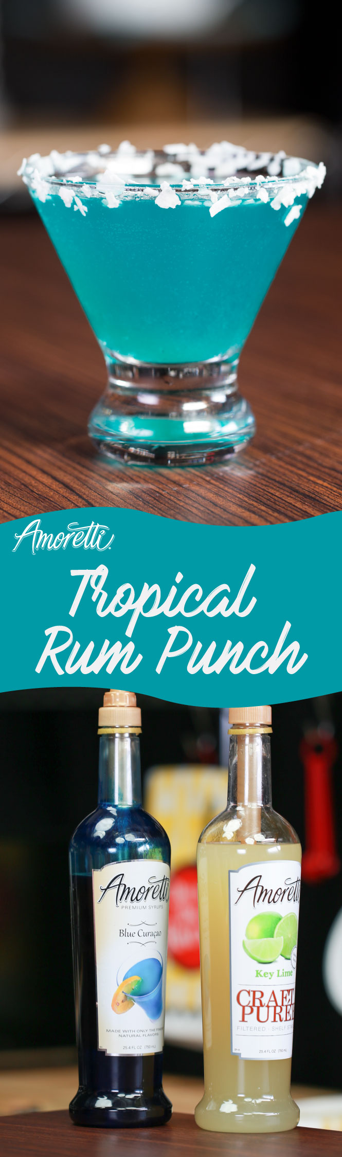 Sweet, fruity, and full of rum, our Tropical Rum Punch is the life of the party!