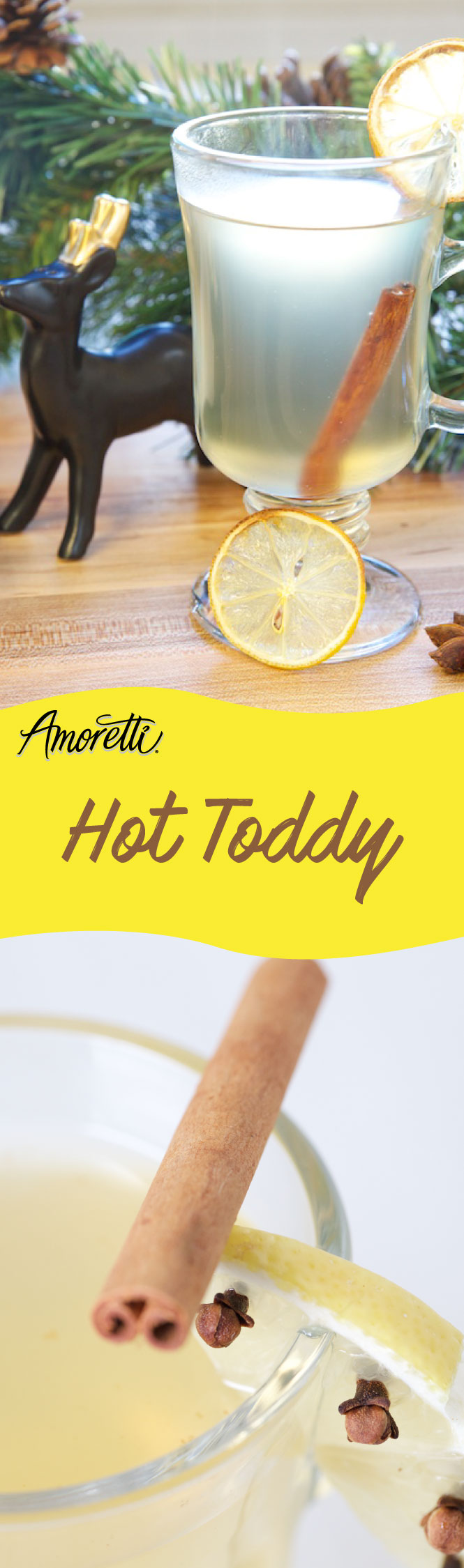 Warm yourself from the inside out with our Hot Toddy!