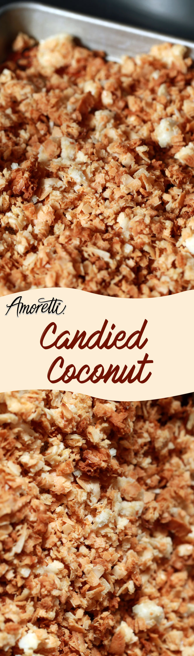 Candied Coconut for topping ice cream, granola, and much more!