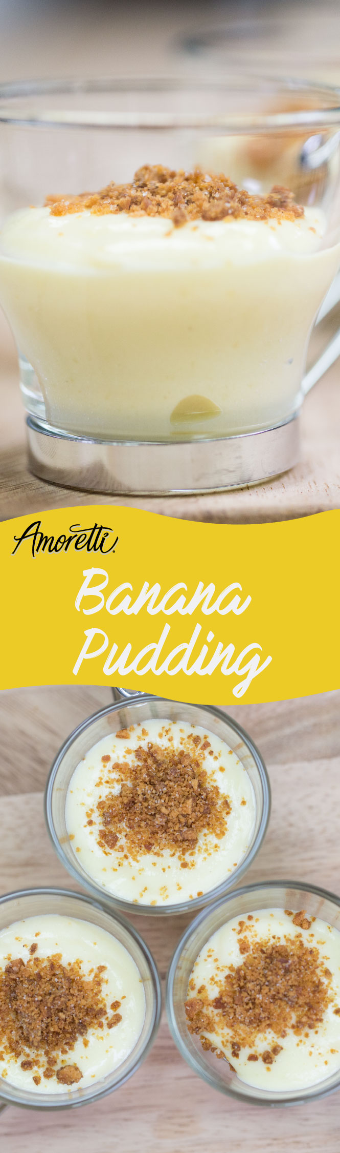 Go absolutely bananas because this banana pudding is just too good!
