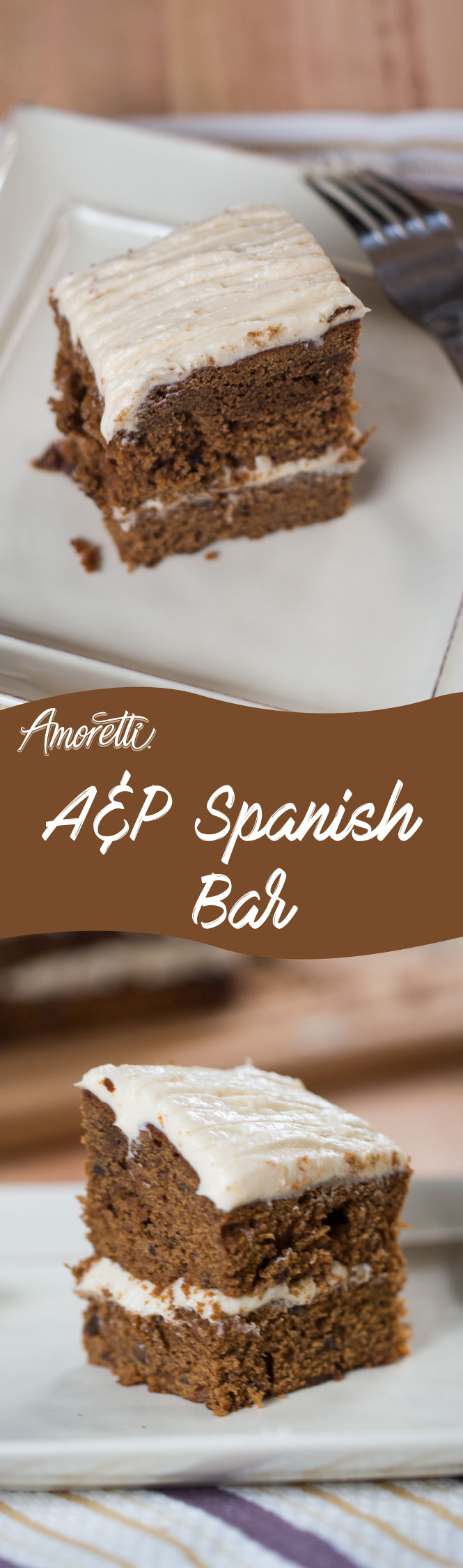 The most popular cake in the 50's and 60's, make this Spanish Bar and reminisce about those deliciously good old days!