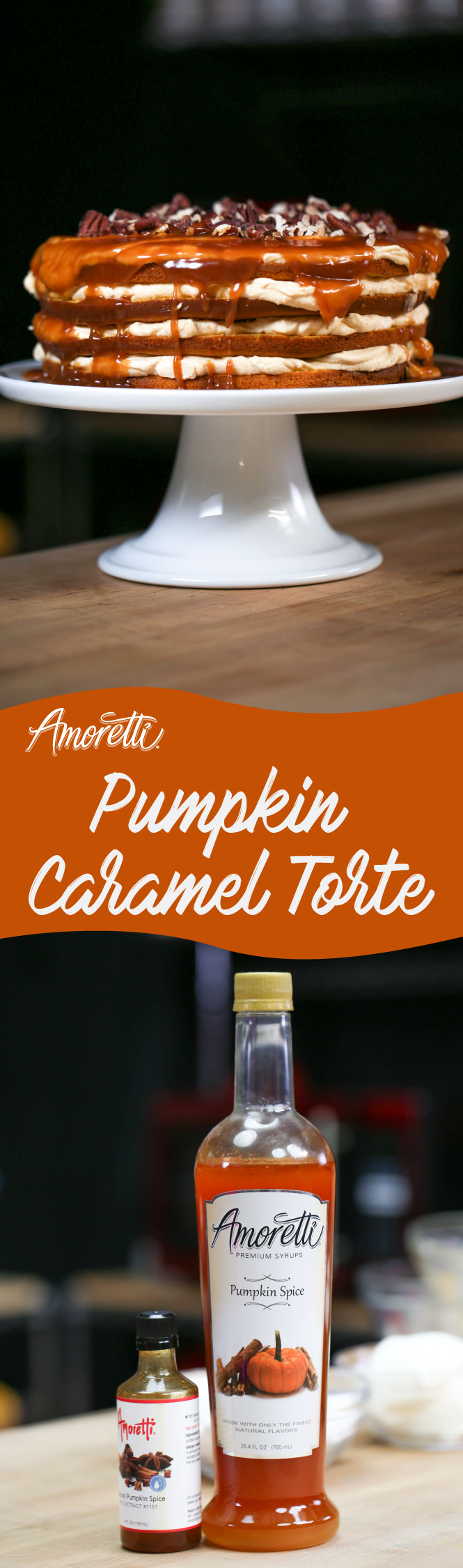 Caramel and pumpkin are a match made in heaven!