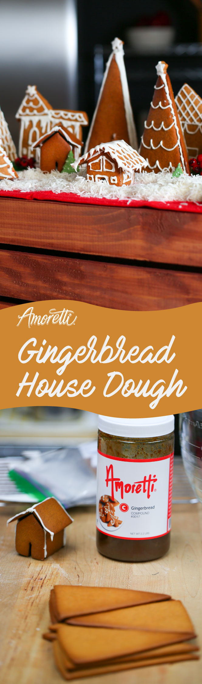 Christmas is truly here and it's time to make that gingerbread house! Try our simple recipe!