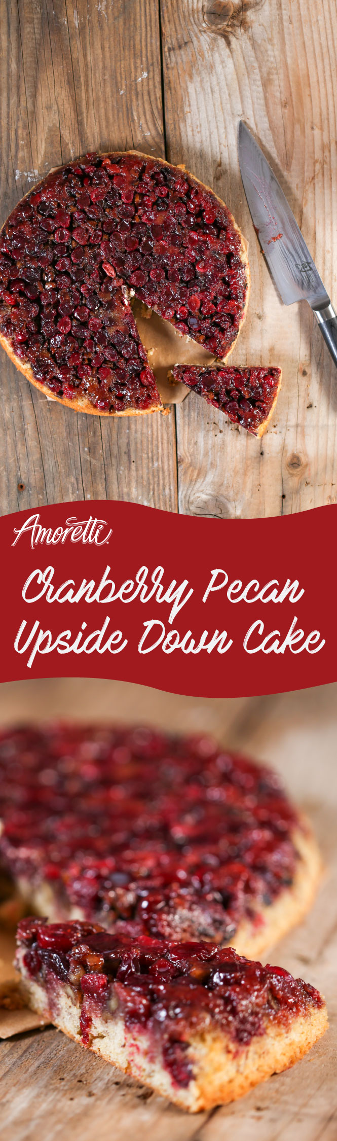 Host a tea party and make this marvelous Cranberry Pecan Upside Down Cake, your guests will be impressed!