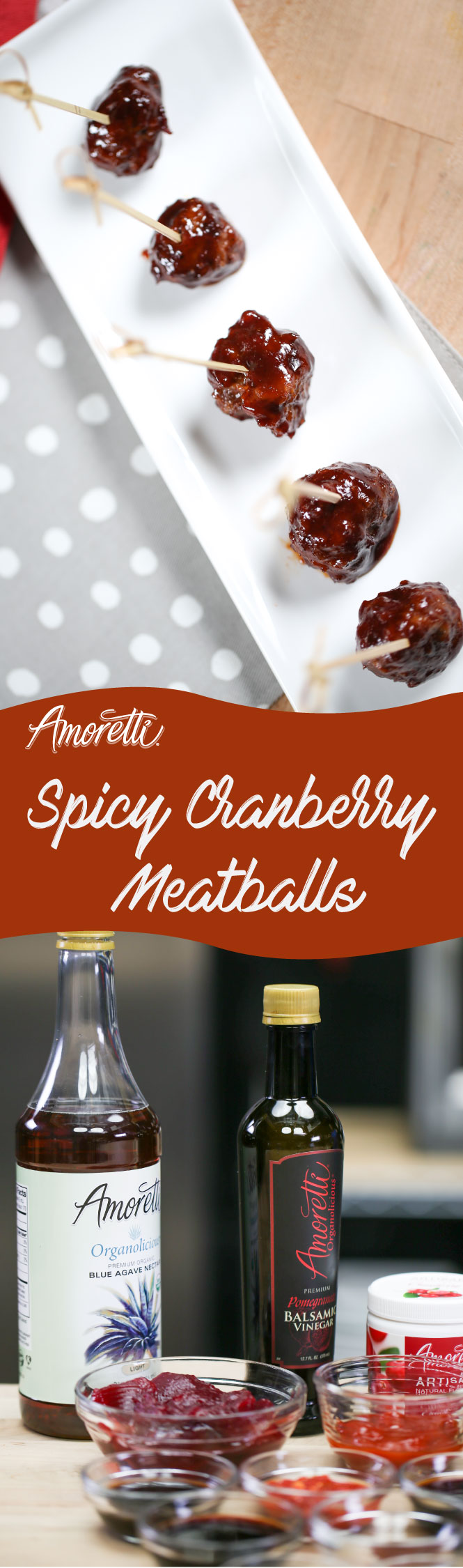 The perfect party finger-food, these meatballs are easy to make and so delicious they'll disappear in an instant!