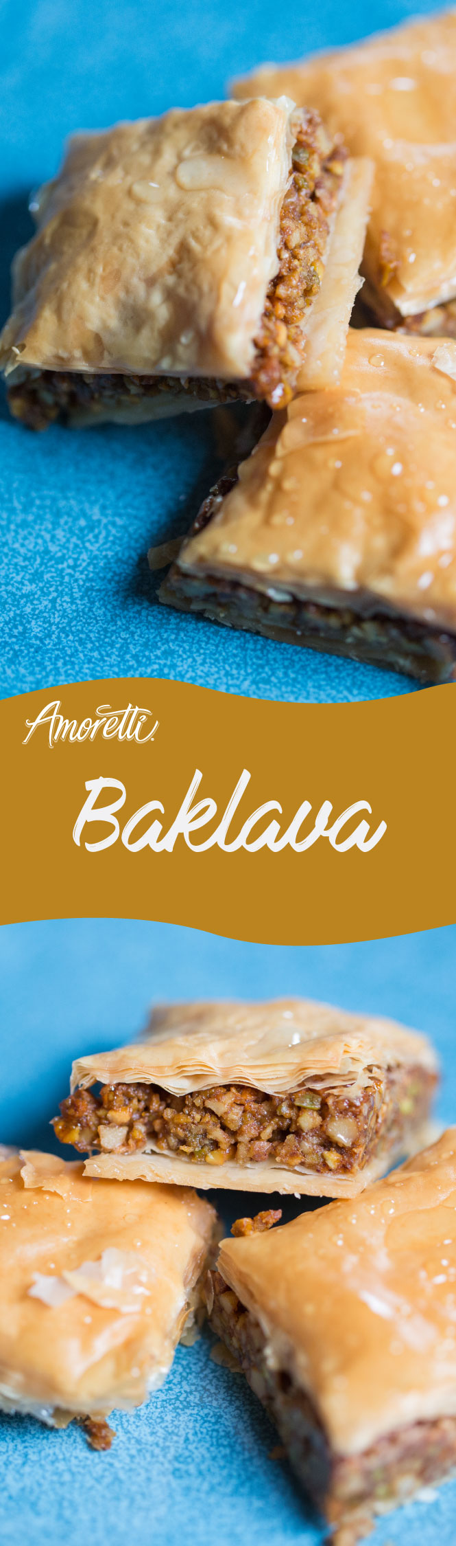 Indulge in sweet, nutty Baklava!