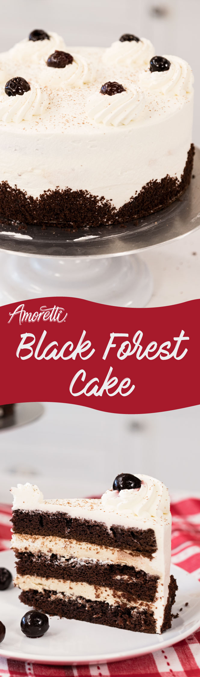 Celebrate with Black Forest Cake!