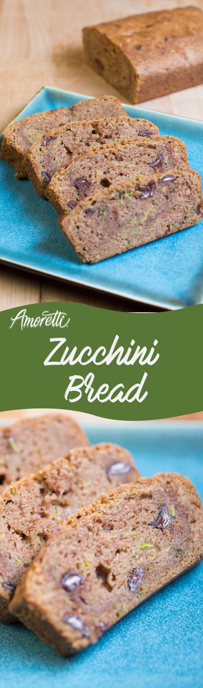 Chocolate chip zucchini bread!