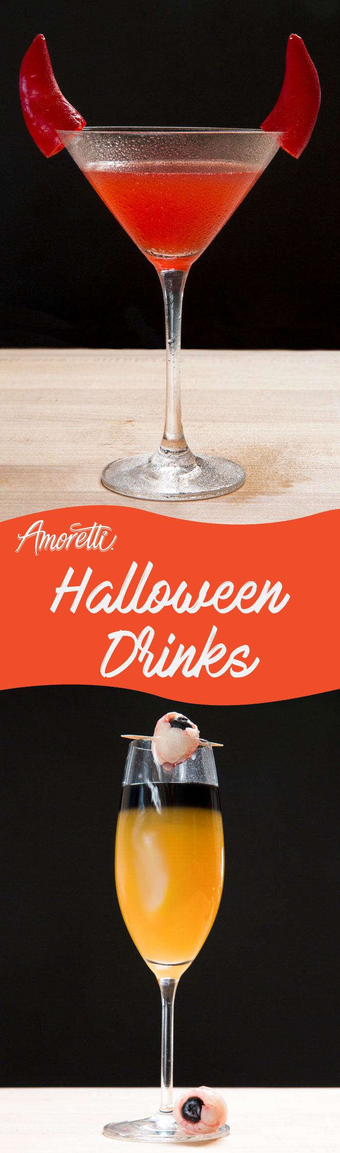 Some scary and creative cocktails for Halloween!