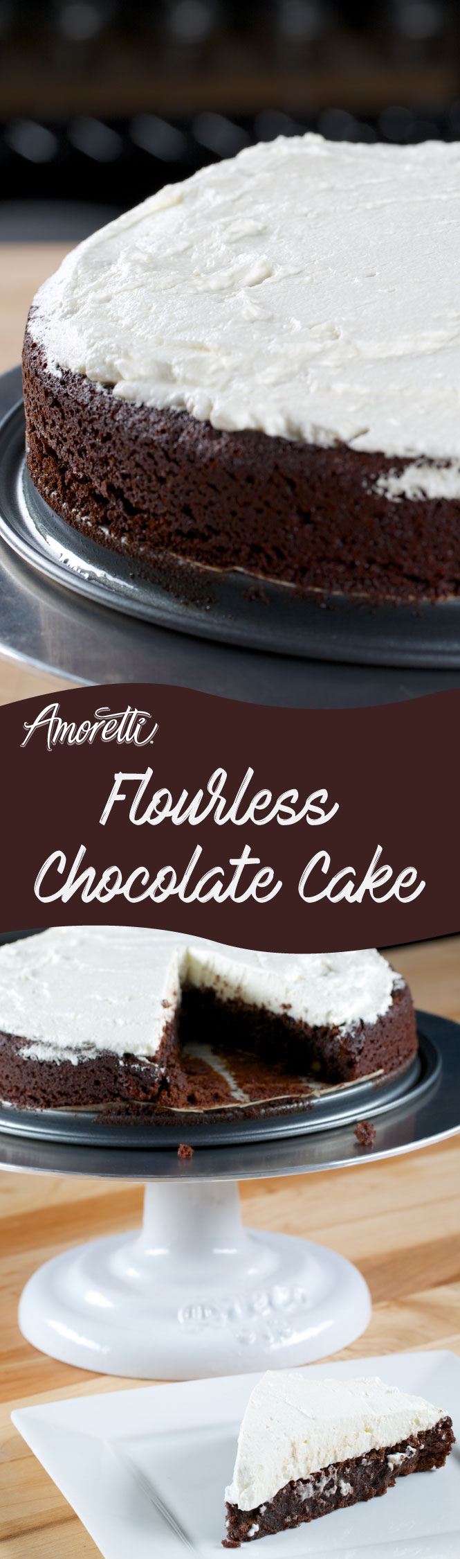 A gluten-free cake that not only has fewer carbs but tastes super delicious!