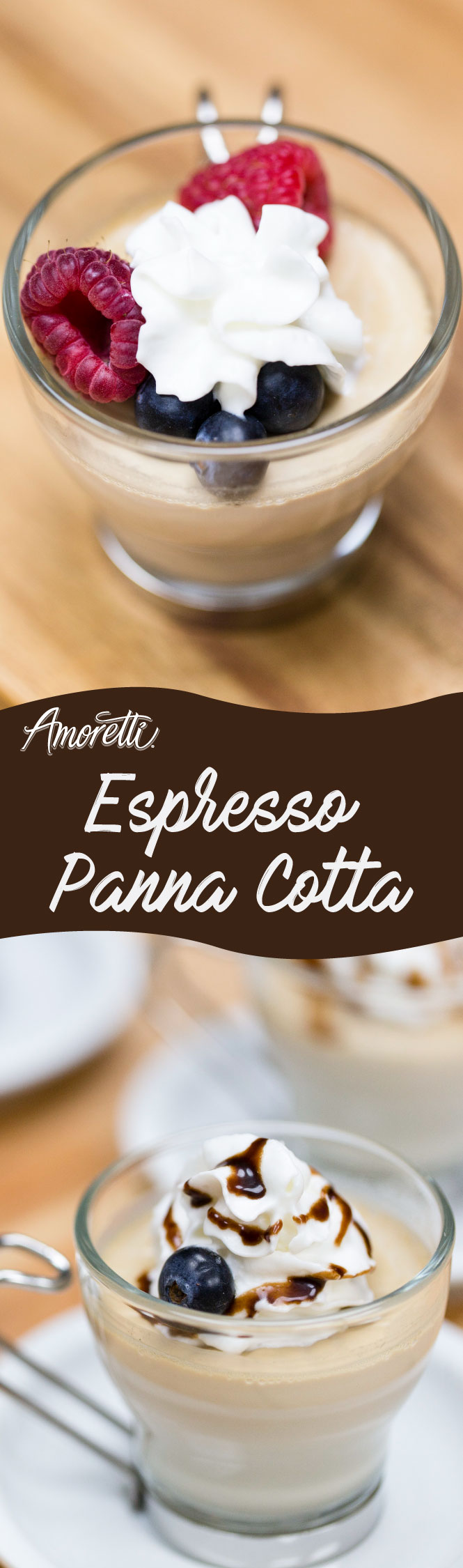 Everything tastes amazing with some coffee flavor, this panna cotta recipe is no exception!