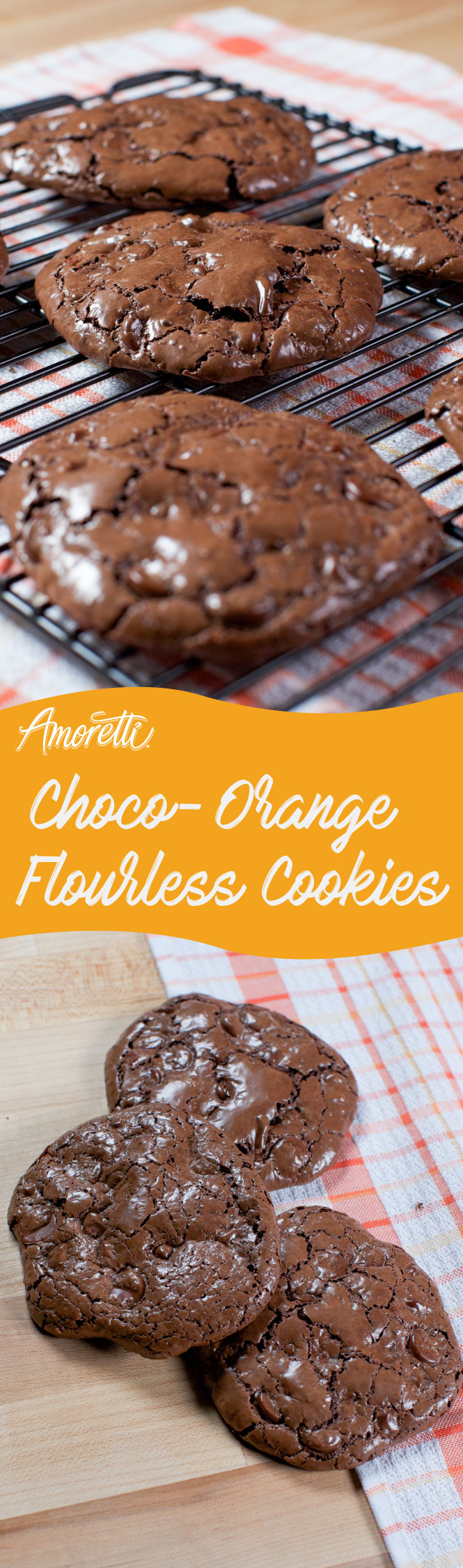 A gluten-free cookie packed with zesty flavor!