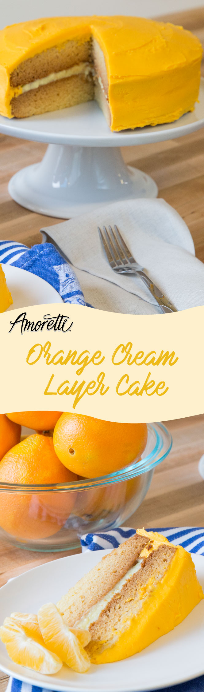 This Orange Cream Cake is a dream come true!