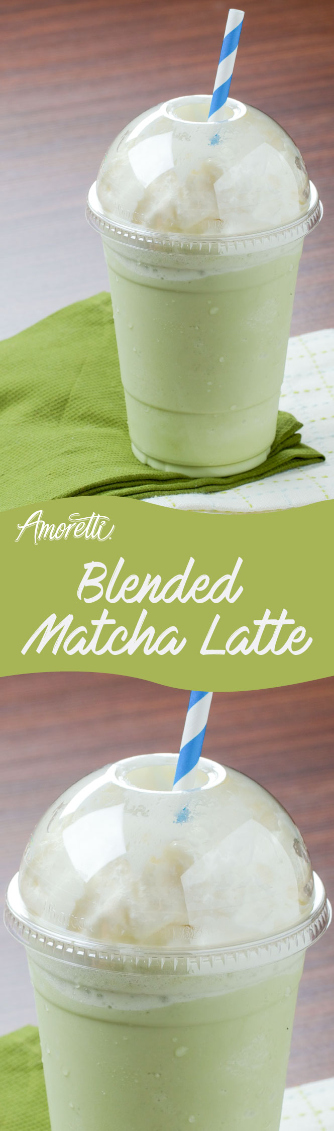 The combination of Honeydew Melon Syrup and matcha make a delicious drink!
