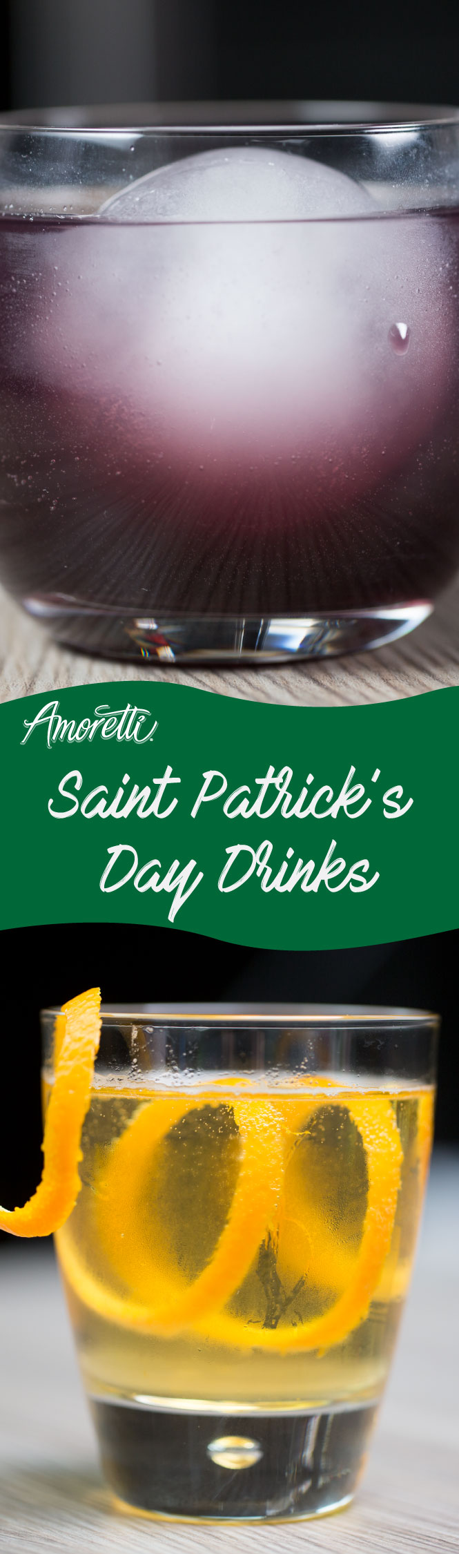 Celebrate St. Patrick's Day with two fun cocktails!