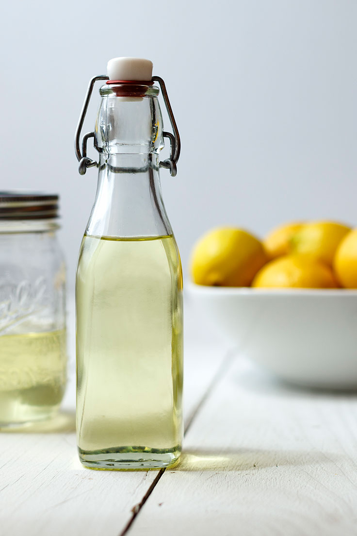 small bottle of Lemon Oil