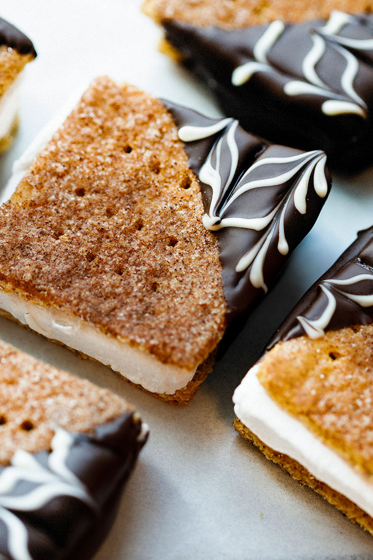 Amoretti S'mores, the winning recipe from our first ever recipe contest!