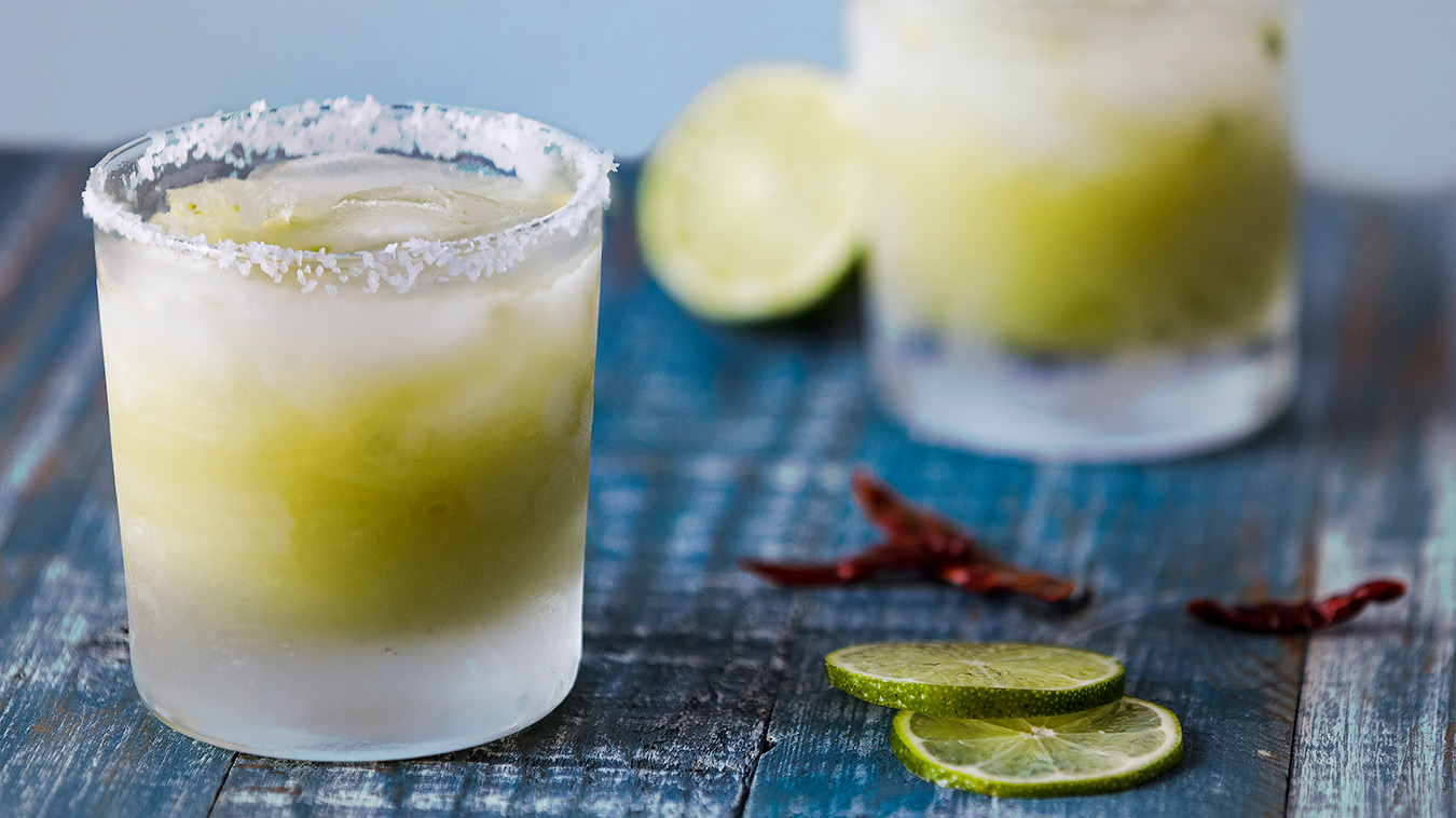 Amoretti Recipe: Avocado Margaritas for two
