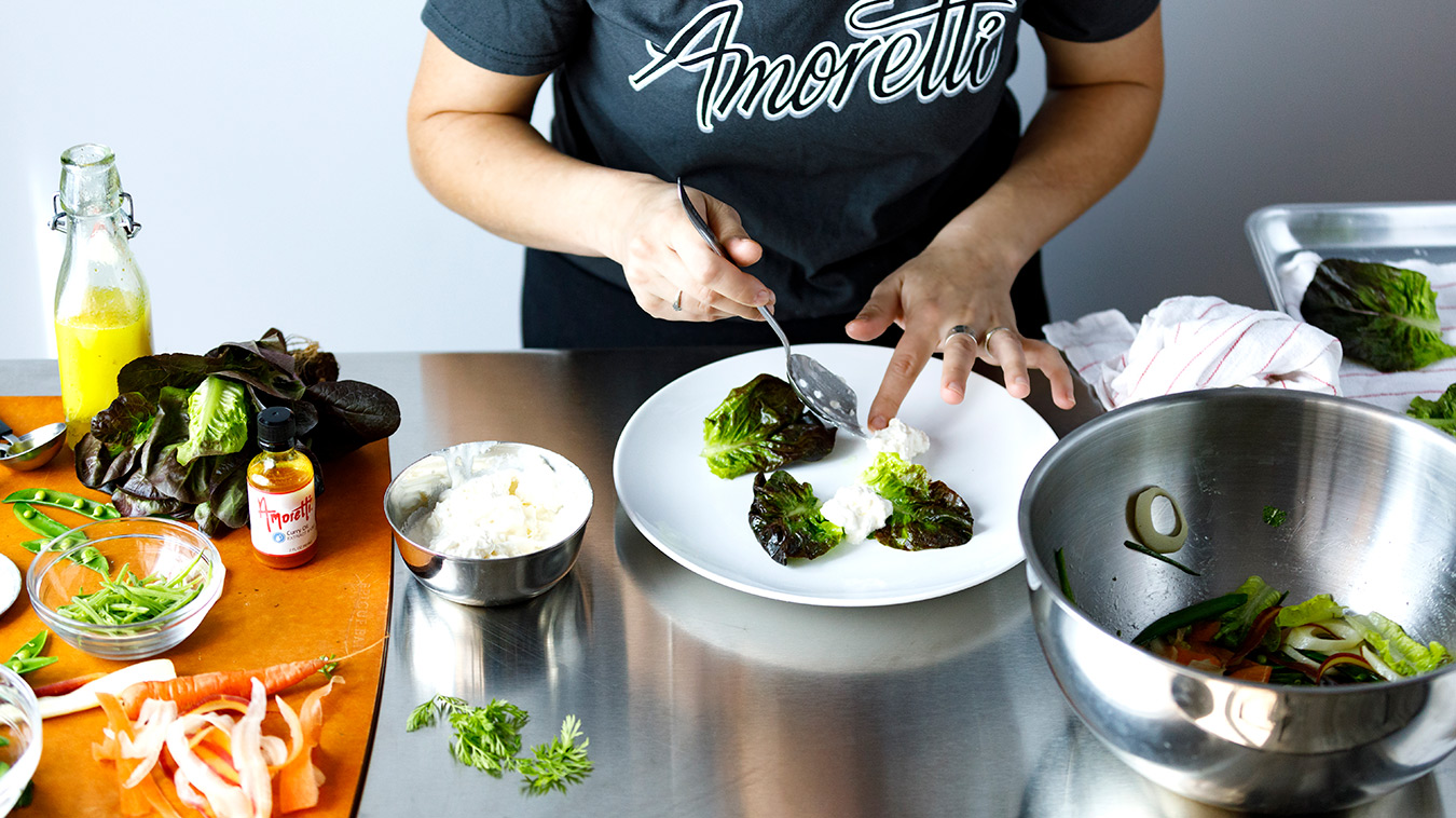 Amoretti Recipe: Marinated Burrata
