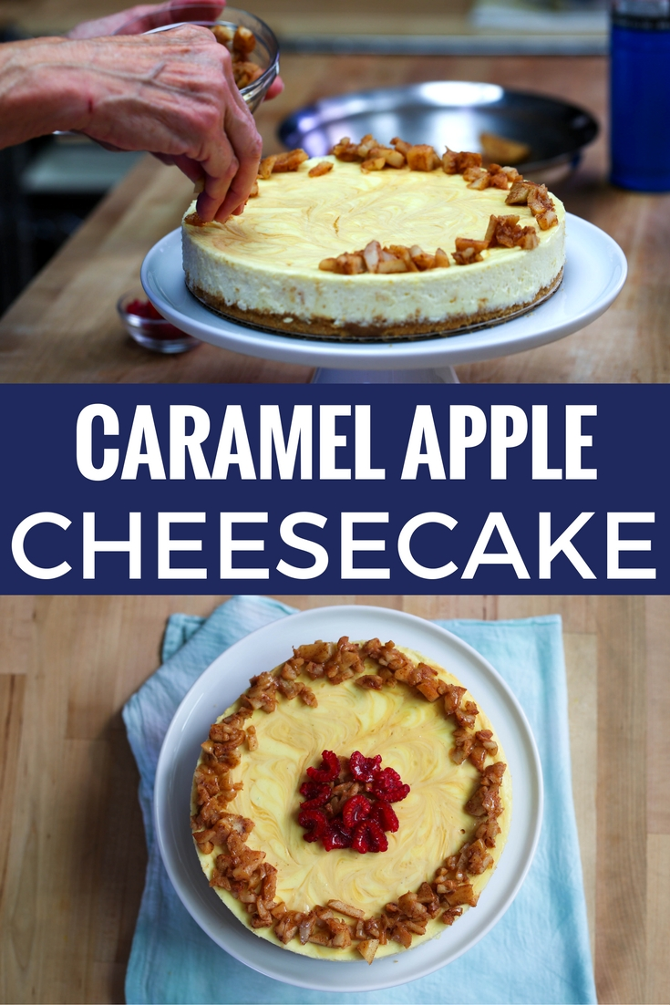 Amoretti Apple Caramel Cheesecake