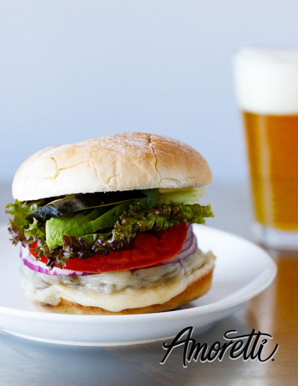 Amoretti Spicy Bacon Burger Recipe