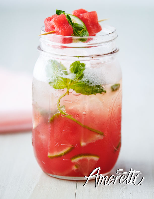 Amoretti Watermelon Punch: Summer barbecues are the best when there is watermelon punch!