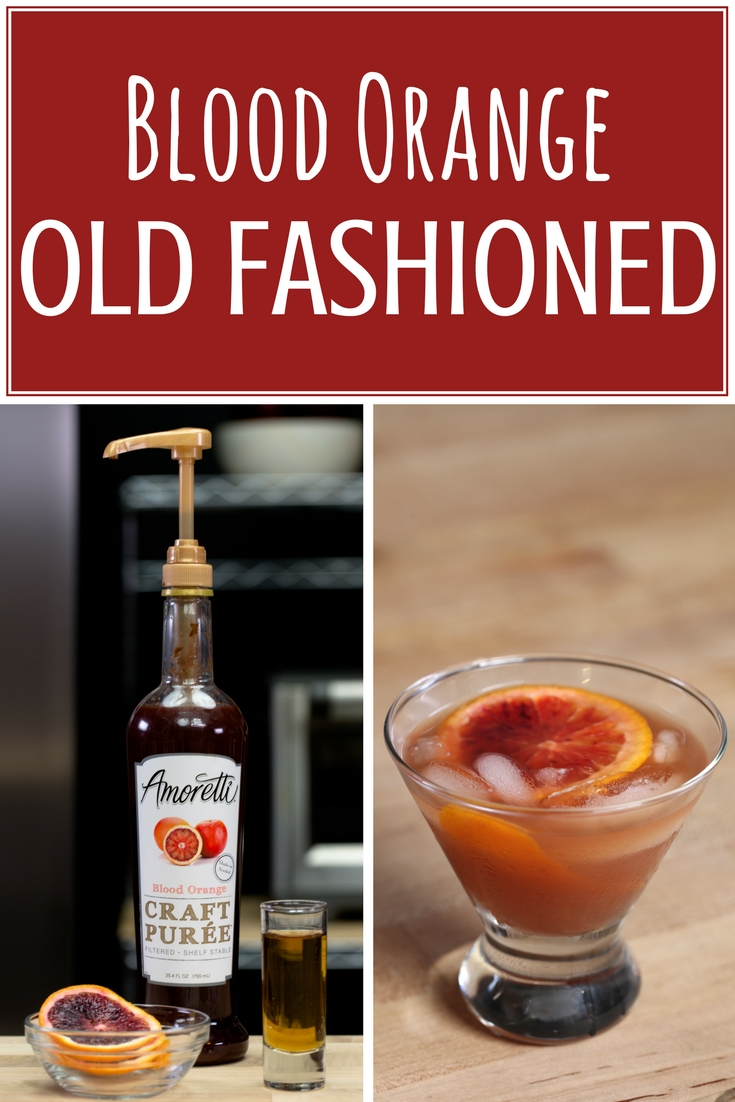 Amoretti Blood Orange Old Fashioned