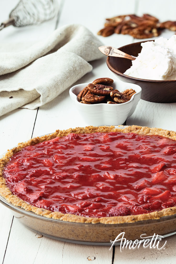 Amoretti Strawberry Pie Recipe: Perfect for summer!