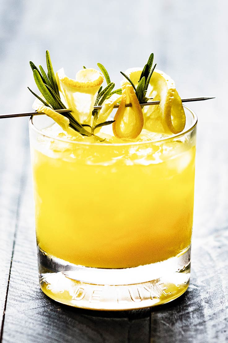 Amoretti Rosemary Whiskey Sour Recipe: A modern, herbal take on our favorite whiskey sour