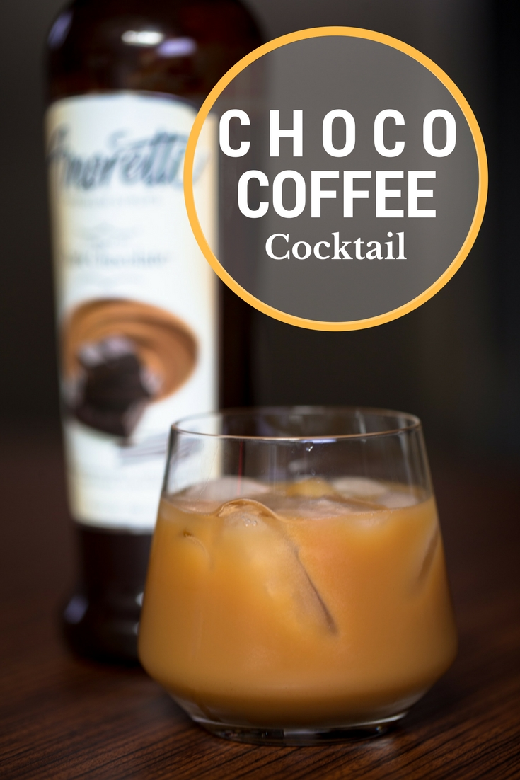 Amoretti Choco-Coffee Cocktail Recipe
