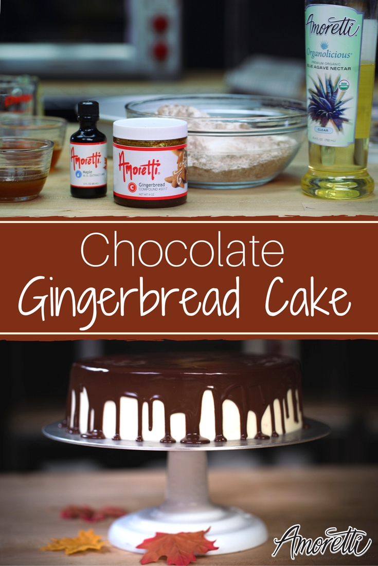 Amoretti Chocolate Gingerbread Cake