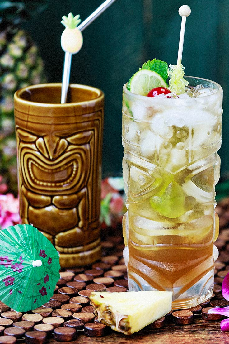 Amoretti's Classic Mai Tai Recipe: This drink will take you to a tropical paradise!