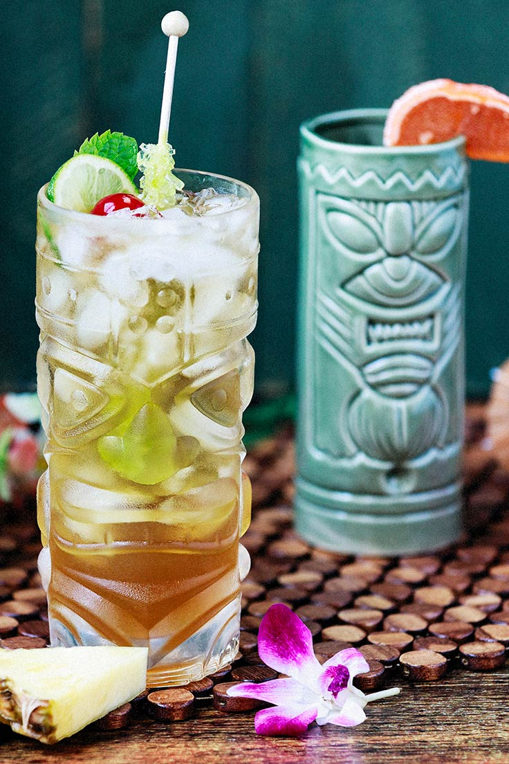 Amoretti's Classic Mai Tai Recipe: This drink tastes like a tropical paradise!