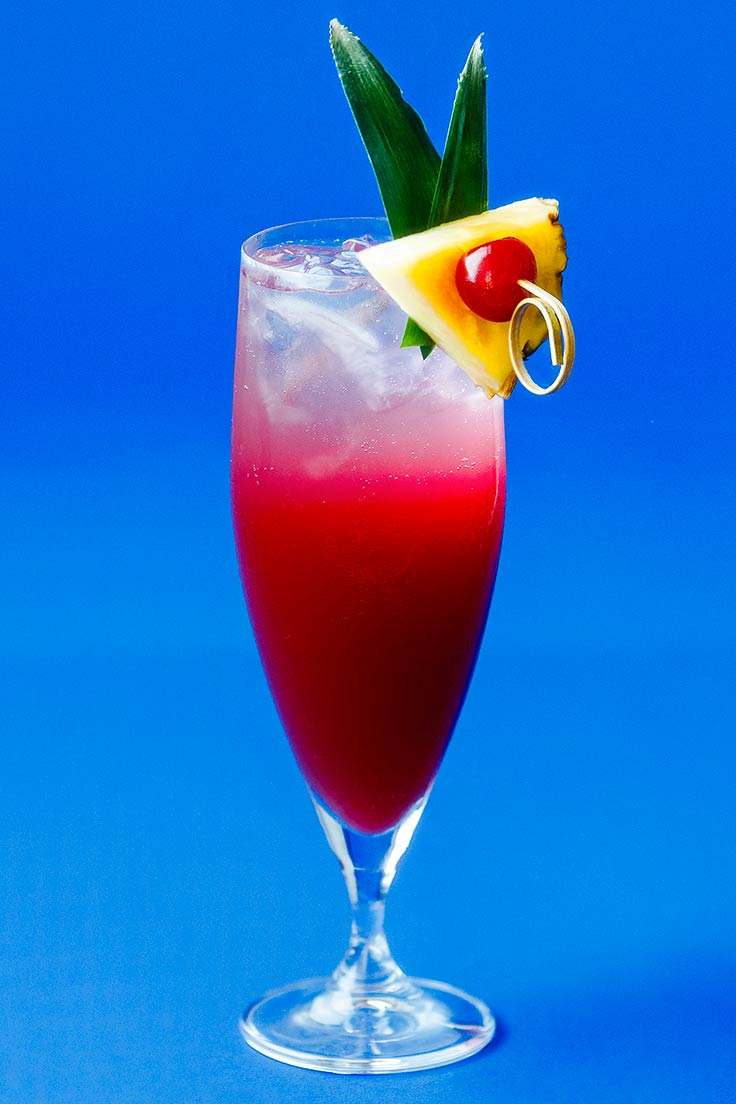 Amoretti Sparkling Colada Recipe: There is nothing better than a bubbly mocktail!
